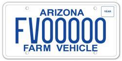 Arizona Farm Vehicle