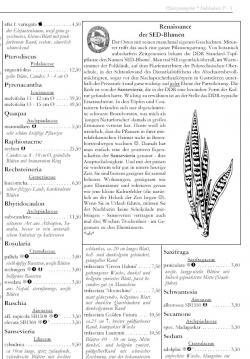 Sansevieria Angebot im Katalog Herbst 2007