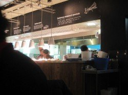 Wahaca Kitchen on full speed