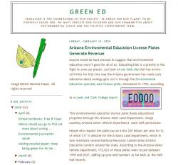 Green Ed - License Plate