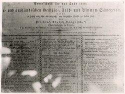 Katalog von Kakteen-Haage von 1826