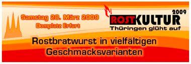 Bratwurst - Angrillen 2009 Erfurt