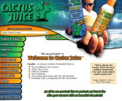 cactusjuice sunscreen
