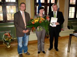 Besuch bei Ministerpräsidentin Lieberknecht November 2009