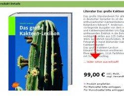 Kakteenlexikon ausverkauft
