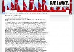 Pressemeldung Linke Erfurt zur Zukunft ega-Park
