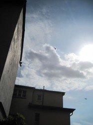 Hubschrauber zum Papstbesuch