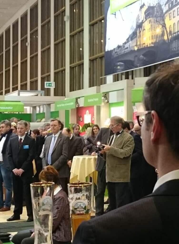 Grüne Woche in Berlin 2017 - Ministerpräsident Bodo Ramelow ist mittendrin
