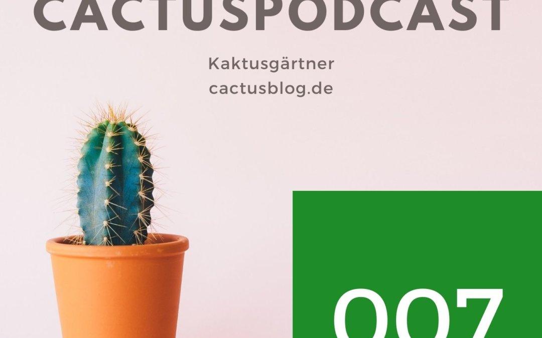 CactusPodcast 007 – Aussaat – Cactus Basics